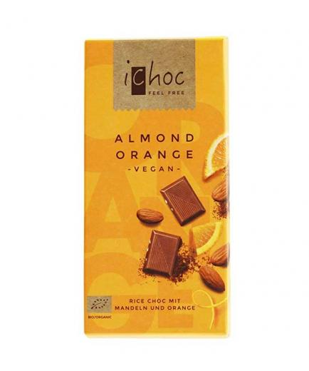 iChoc - Vegan Chocolate with orange and almonds