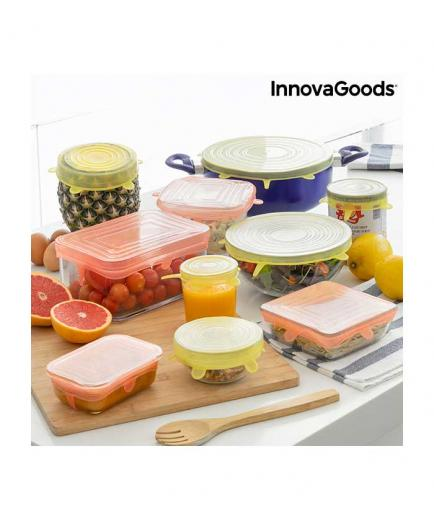 InnovaGoods - Kit of 10 reusable extensible lids
