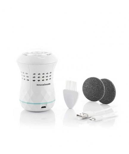 InnovaGoods - Rechargeable pedicure file with integrated aspirator Sofeem