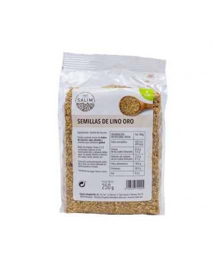 Int Salim - Golden flax seeds 250g