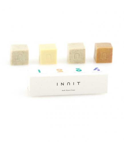 Inuit - Pack 4 solid facial soaps Combined Box