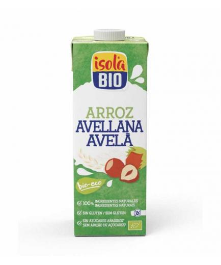 Isola Bio - Organic rice and hazelnut drink