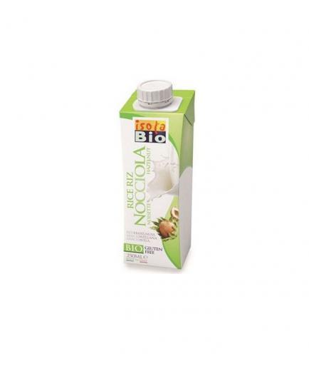 Isola Bio - Organic rice and hazelnut milk - 250ml