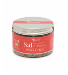 Josenea - Jar of fat salt with plants of the Pyrenees - Pasta and Pizza