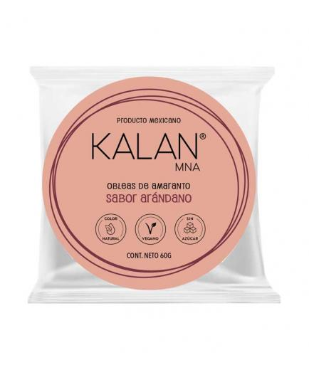 Kalan - Amaranth Wafers 60g - Blueberry