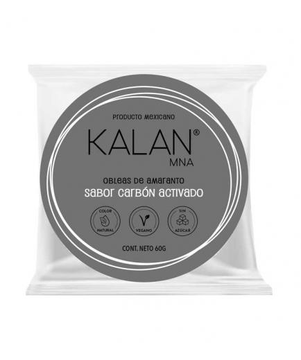 Kalan - Amaranth wafers 60g - Activated charcoal