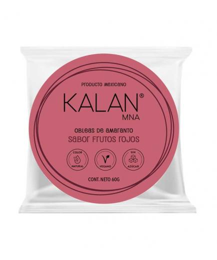 Kalan - Amaranth wafers 60g - Red fruits