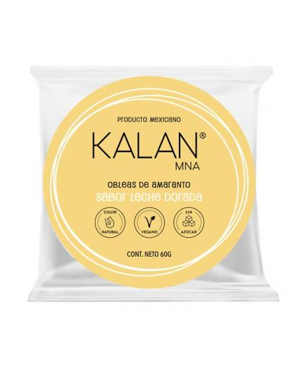 Kalan - Amaranth Wafers 60g - Golden Milk