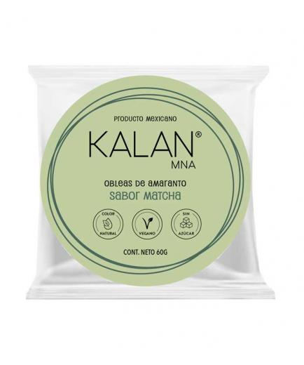 Kalan - Amaranth Wafers 60g - Matcha