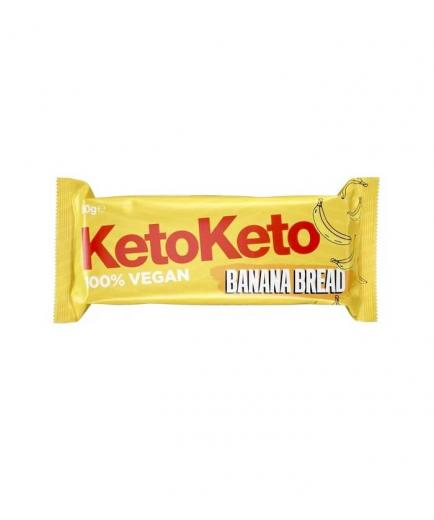 KetoKeto - Vegan Bar 50g - Banana bread