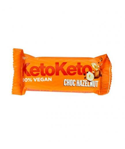KetoKeto - Vegan bar 50g - Hazelnuts and cocoa