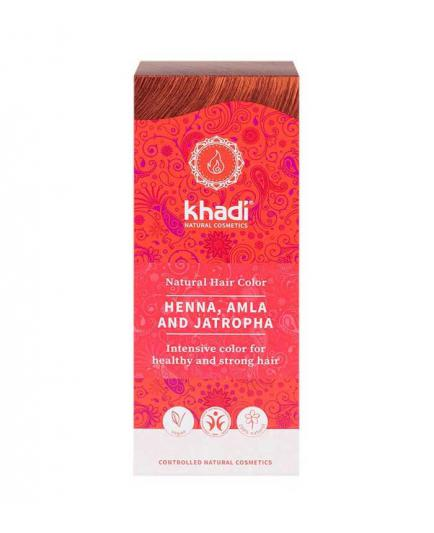 Khadi - Vegetable hair dye - Henna con Alma & Jatropha