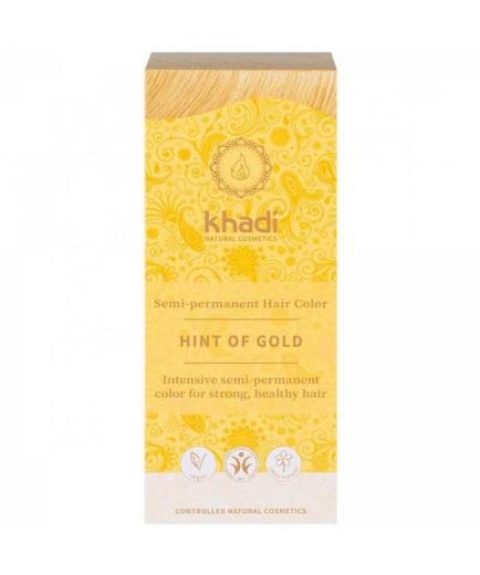 Khadi - Vegetable hair dye semi-permanent - Hint of Gold