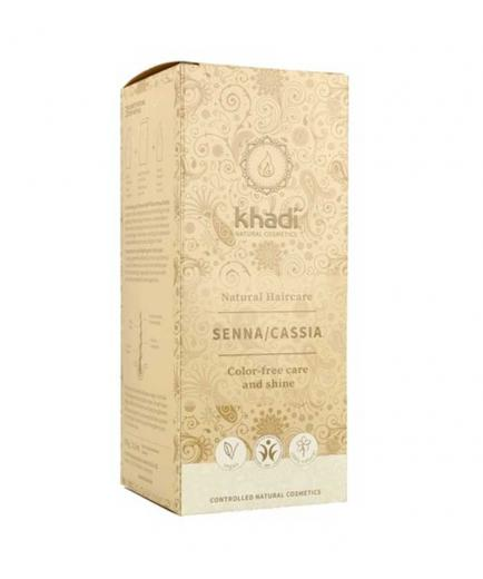 Khadi - Treatment for hair care and shine without color - Senna/Cassia