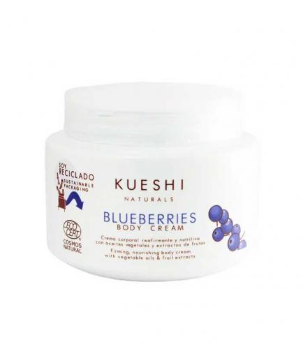 Kueshi - Firming and nourishing body cream Blueberries