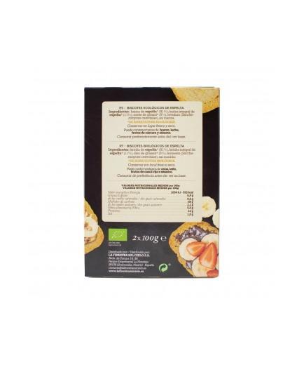 La Finestra sul Cielo - Organic spelled biscuits 200g