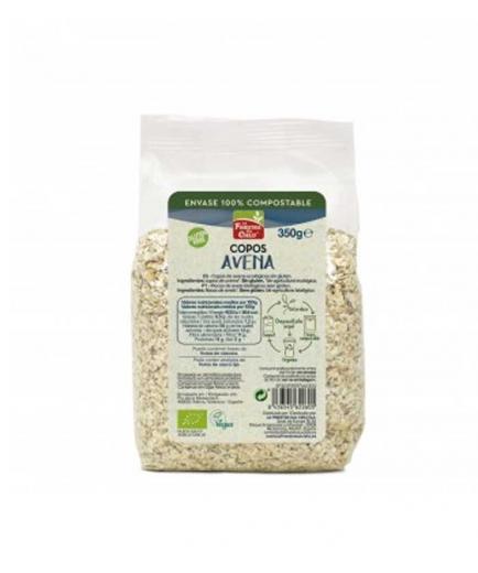 La Finestra sul Cielo - Organic gluten-free oat flakes in compostable container 350g