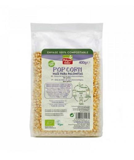 La Finestra sul Cielo - 100% compostable gluten-free popcorn 400g