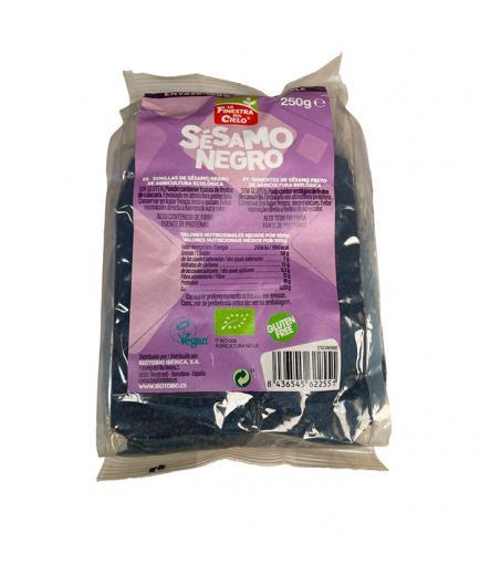 La Finestra sul Cielo - Bio black sesame seeds 100% compostable container 250g