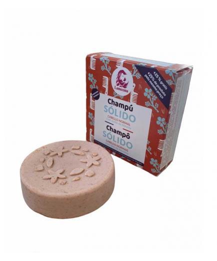 Lamazuna - Solid vegan shampoo 70ml - Normal hair: Abyssinian oil