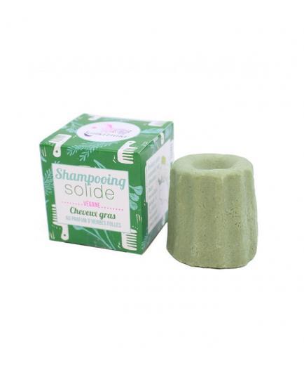 Lamazuna - Vegan solid shampoo - Greasy hair: Wild Herbs Scent