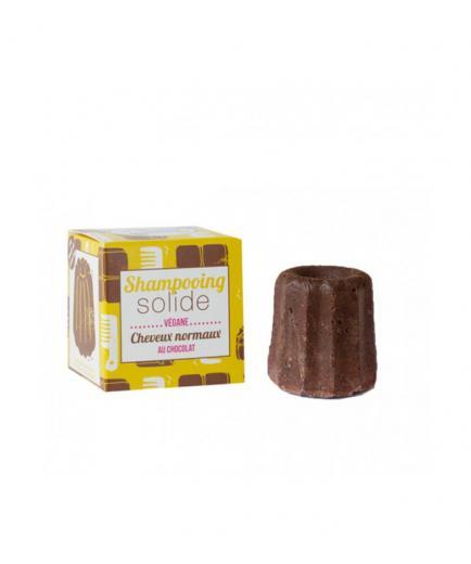 Lamazuna - Vegan solid shampoo - Normal hair: At Chocolate