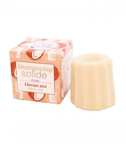 Lamazuna - Vegan solid shampoo - Dry hair: Vanilla and coconut