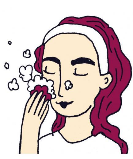 Lamazuna - Solid facial cleanser - Dry and sensitive skin