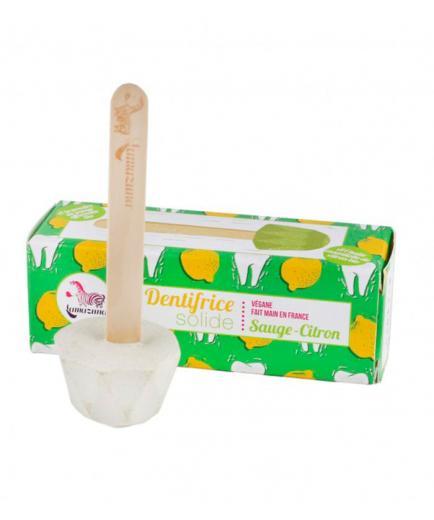 Lamazuna - Solid toothpaste with lemon oil