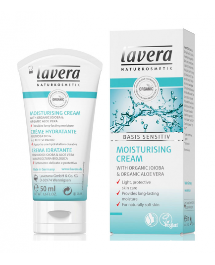 Lavera - Crema hidratante - Basis Sensitiv