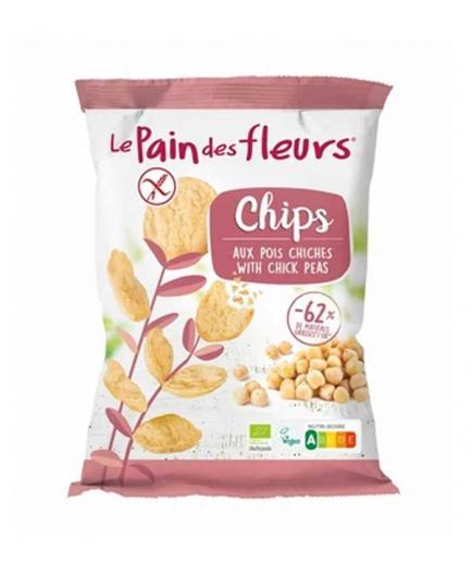 Le pain des fleurs - Organic chickpea chips 50g