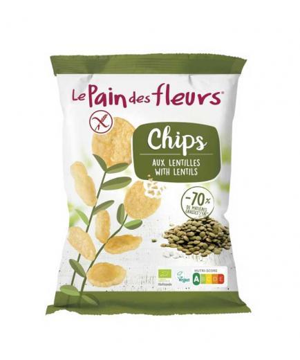 Le pain des fleurs - Organic lentil chips 50g
