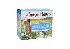 Le pain des fleurs - Organic crusty bread with buckwheat without salt