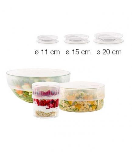 Lékué - Kit of reusable extendable lids