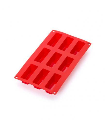 Lékué - Mini Cake Mold 9 cavities - Red