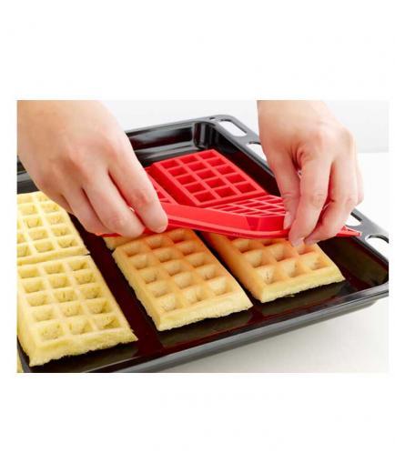 Lékué - Pack 2 waffles molds