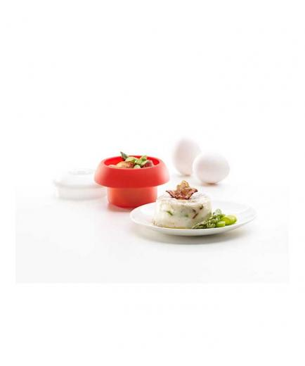 Lékué - Ovo Cylindrical Egg Cooker - Red