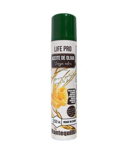 Life Pro Fit Food - Extra virgin olive oil cooking spray 250ml - Butter flavor