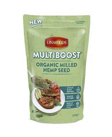 Linwoods - Ground Hemp Seeds Multiboost Bio 200g