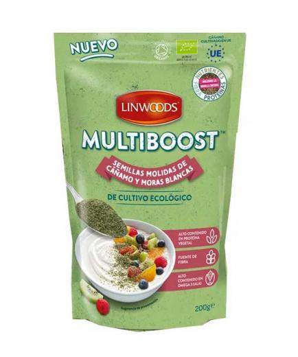 Linwoods - Ground hemp and dried fruit seeds Multiboost Bio 200g
