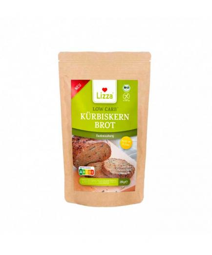 Lizza - Organic and vegan keto bread baking mix 250g - With pumpkin seeds