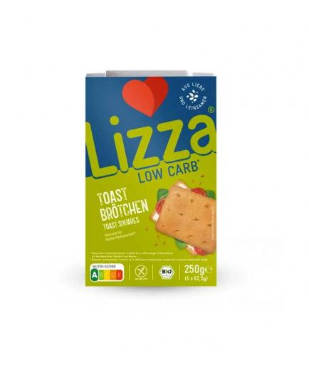 Lizza - Keto toast, gluten-free and vegan 220g - Classic