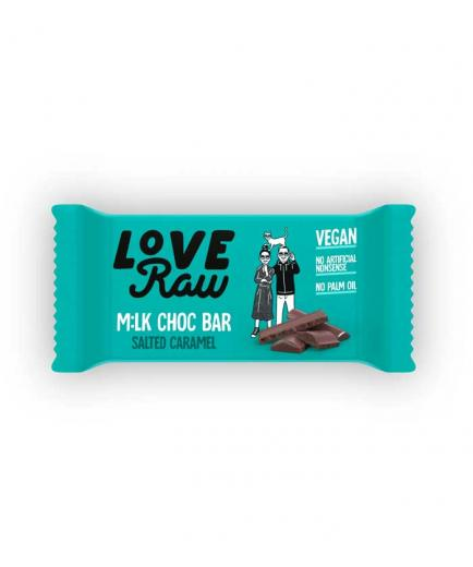 Love Raw - Vegan chocolate bar 30g - Salted caramel