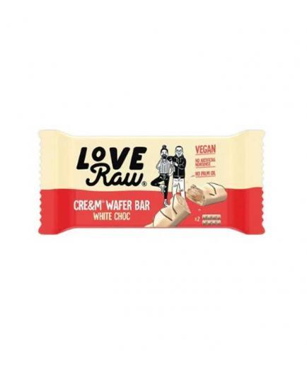 Love Raw - Vegan Cre&m wafer bars - White chocolate