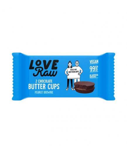 Love Raw - Vegan Butter Cups - Peanut Brownie