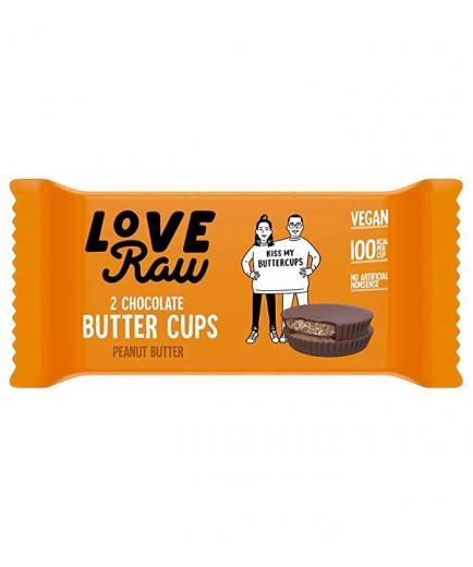 Love Raw - Vegan Butter Cups - Peanut Butter