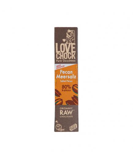 Lovechock – Rod of organic dark chocolate - Walnut Pecan and maca