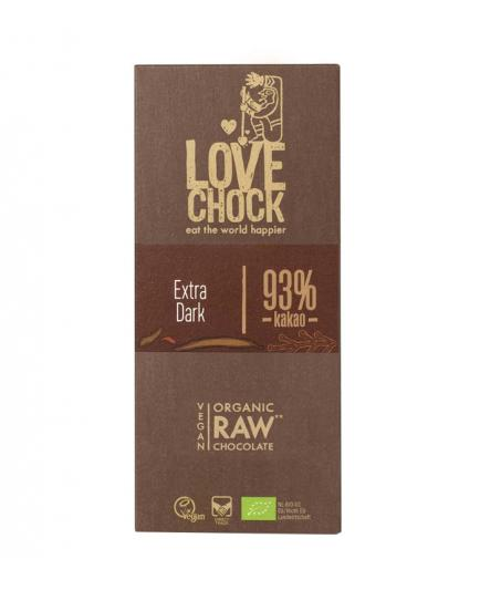 Lovechock – Ecological pure 93% cocoa chocolate