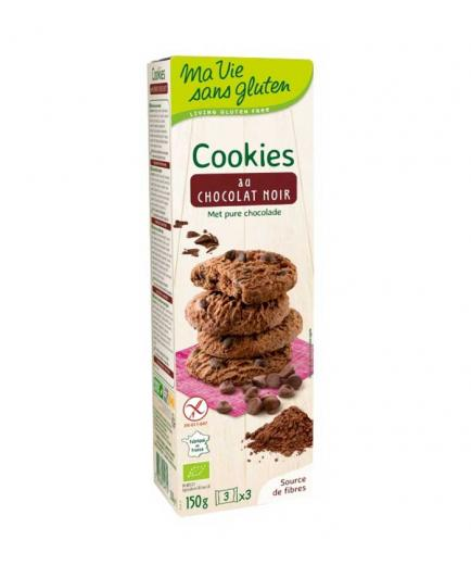 Ma Vie Sans Gluten - Bio gluten-free cookies with dark chocolate 150g