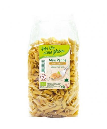 Ma Vie Sans Gluten - Mini Bio brown rice macaroni 500g